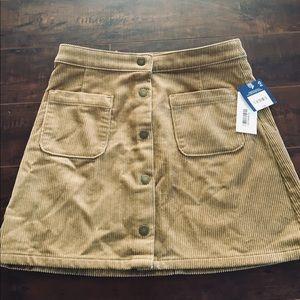 Brand new corduroy skirt!